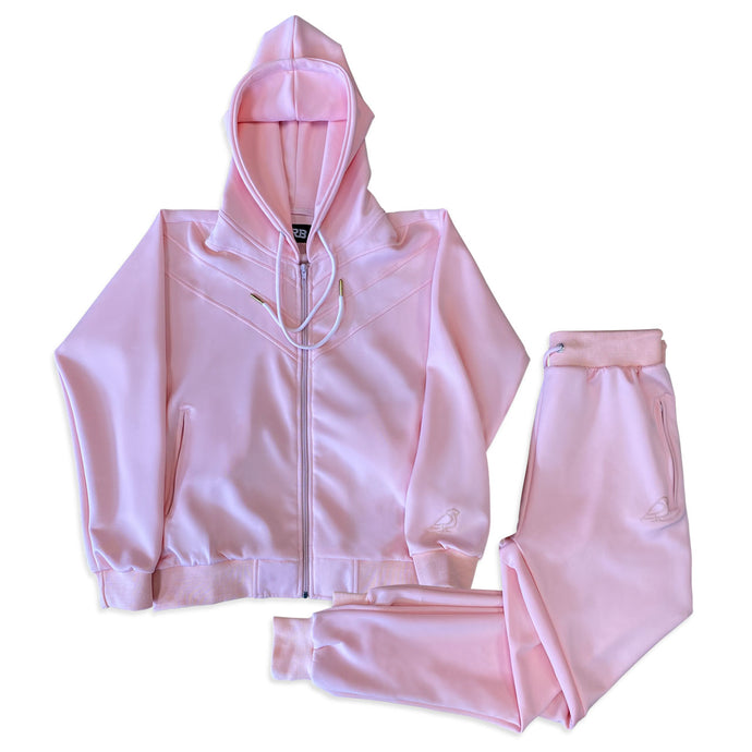 MEN'S SCUBA PINK KNIT SWEATSUIT