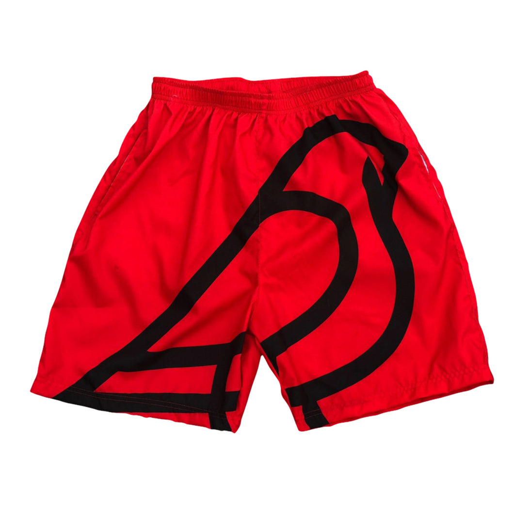 SUMMER SHORTS RED