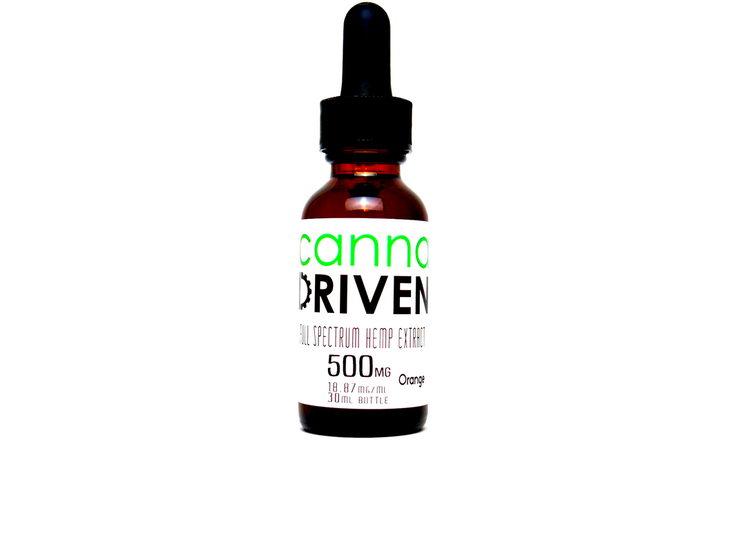 500MG - Full Spectrum CBD Extract