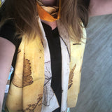 Jet James Scarves - Yellow Dragonfly