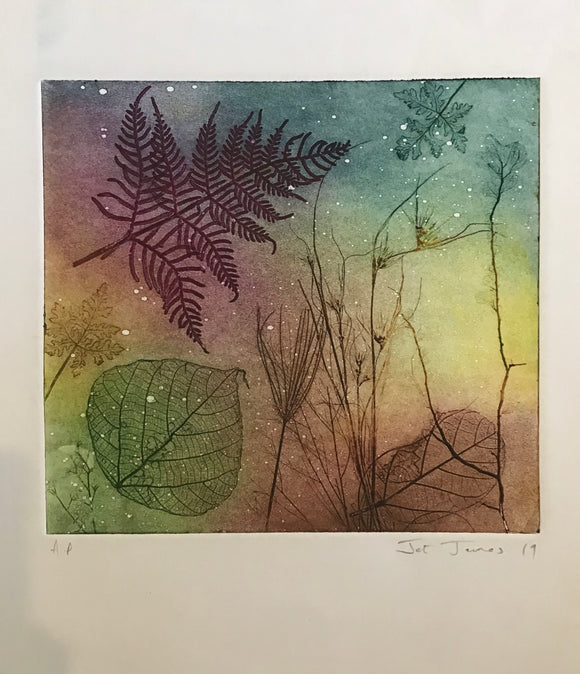 """Mystic Sparkle"" Original Etching"