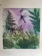 "Original Etching: ""Good Evening Dragonfly"""