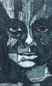 "Original Collagraph: ""Complexity"""