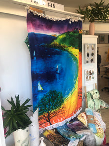 Rainbow Cooee Bay Beach Towel