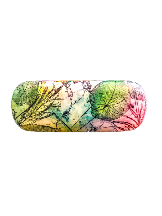Leaf inspired Sunglasses case