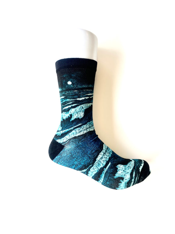 Bamboo Socks - Waves