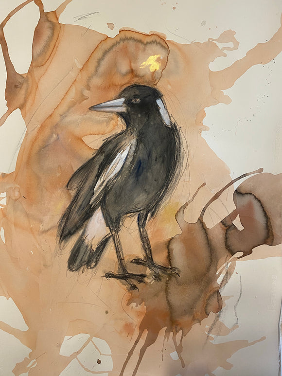 Magpie original artwork