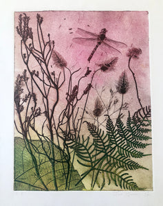 """Tallest Grass"" Original Etching"