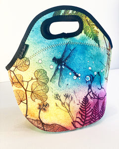 Dragonfly lunch tote