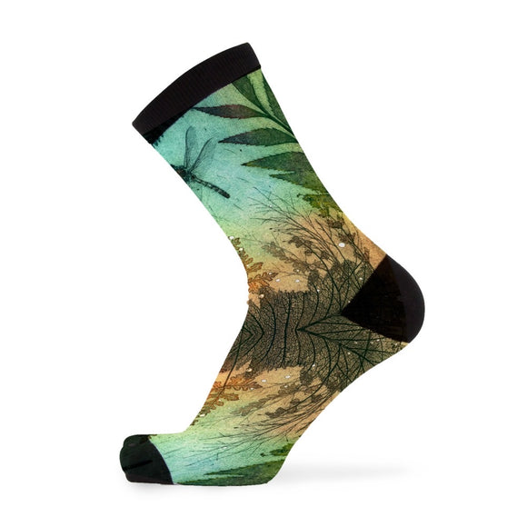 Bamboo Socks -  Colourful Dragonflies