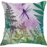 Cushion Cover - Pink Byfield Fern