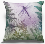 Pink Byfield Fern Cushion Cover