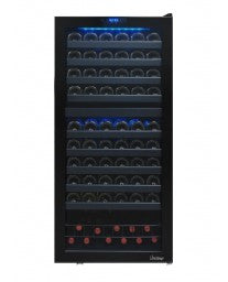 110 Bottle Dual-Zone Touch Screen Wine Cooler by Vinotemp, Wine Cooler, Vinotemp - The Luxury Man Cave