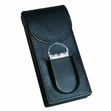3 Cigar Magnetic Case With Cutter by Prestige Import Group