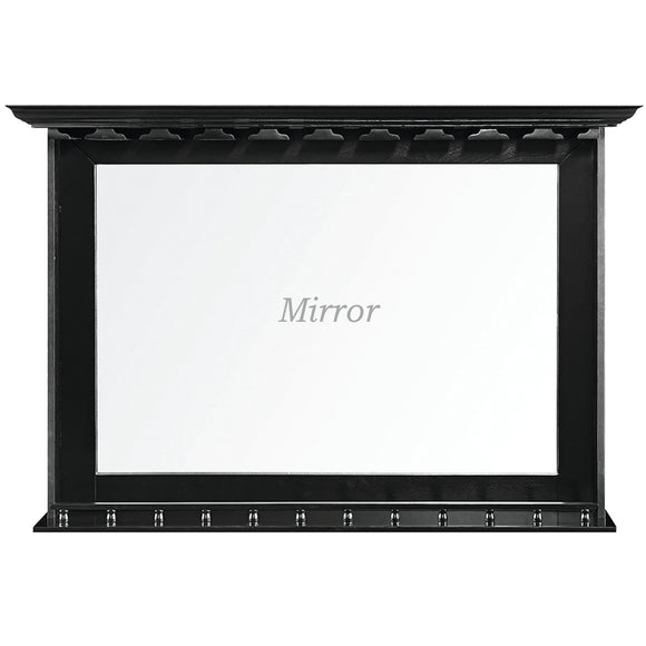 BAR MIRROR - BLACK by RAM Gameroom, Bar Mirror, RAM Gameroom - The Luxury Man Cave