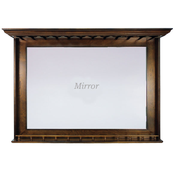 BAR MIRROR - CHESTNUT by RAM Gameroom, Bar Mirror, RAM Gameroom - The Luxury Man Cave