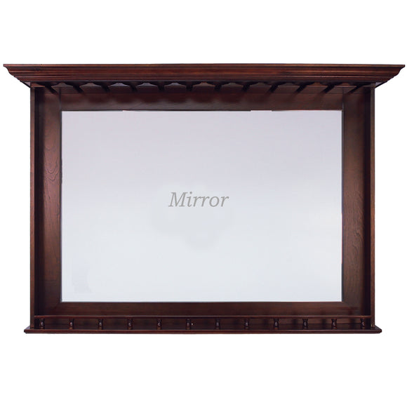 BAR MIRROR - ENGLISH TUDOR by RAM Gameroom, Bar Mirror, RAM Gameroom - The Luxury Man Cave