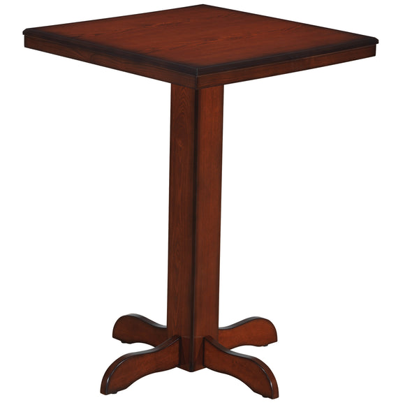 SQUARE PUB TABLE - CHESTNUT by RAM Gameroom, Pub Table, RAM Gameroom - The Luxury Man Cave