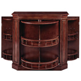 BAR CABINET W/ SPINDLE - ENGLISH TUDOR by RAM Gameroom, Home Bar, RAM Gameroom - The Luxury Man Cave
