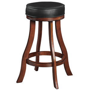 BACKLESS BARSTOOL - CHESTNUT by RAM Gameroom, bar Stools, RAM Gameroom - The Luxury Man Cave