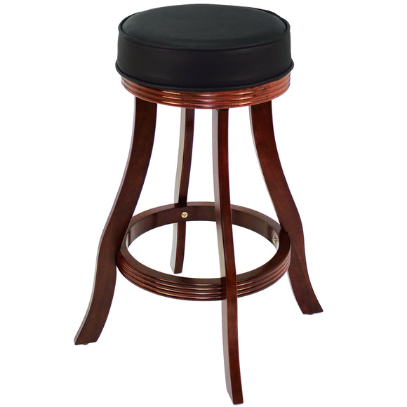 BACKLESS BARSTOOL - ENGLISH TUDOR by RAM Gameroom, bar Stools, RAM Gameroom - The Luxury Man Cave