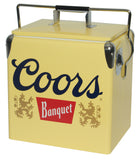 NEW! Coors Light Banquet Ice Chest 13 liter retro vintage by Koolatron, Ice Chest, Koolatron - The Luxury Man Cave