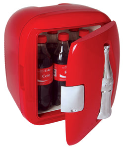 Coca Cola Cube with Coke bottle by Koolatron, Beverage Refrigerator, Koolatron - The Luxury Man Cave