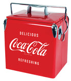 Coca Cola Vintage Ice chest  13 liter retro vintage by Koolatron, Ice Chest, Koolatron - The Luxury Man Cave