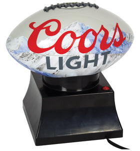 NEW! Coors Light Football Popcorn Maker by Koolatron, Accessories, Koolatron - The Luxury Man Cave