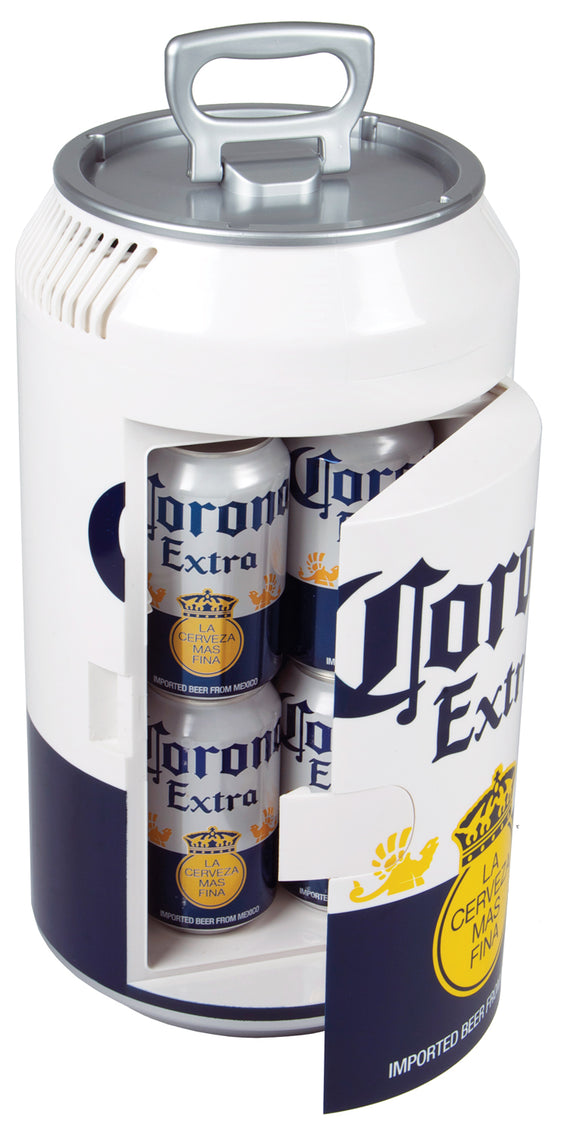 NEW! Corona Mini Can Fridge by Koolatron, Beverage Refrigerator, Koolatron - The Luxury Man Cave