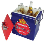 Corona Vintage 13L Ice Chest by Koolatron, Beverage Refrigerator, Koolatron - The Luxury Man Cave