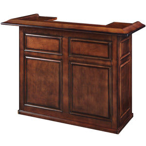 "60"" BAR - CHESTNUT by RAM Gameroom, Home Bar, RAM Gameroom - The Luxury Man Cave"