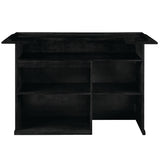 "72"" BAR - BLACK by RAM Gameroom, Home Bar, RAM Gameroom - The Luxury Man Cave"
