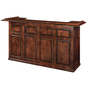"84"" BAR - CHESTNUT by RAM Gameroom, Home Bar, RAM Gameroom - The Luxury Man Cave"