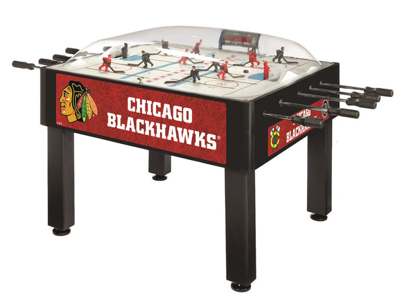 Chicago Blackhawks Dome Hockey (Basic) Game by Holland Bar Stool Company, Dome Hockey, Holland Bar Stool Company - The Luxury Man Cave