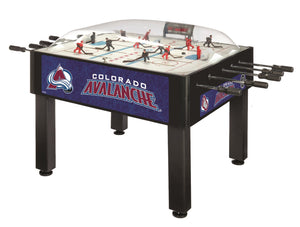 Colorado Avalanche Dome Hockey (Basic) Game by Holland Bar Stool Company, Dome Hockey, Holland Bar Stool Company - The Luxury Man Cave