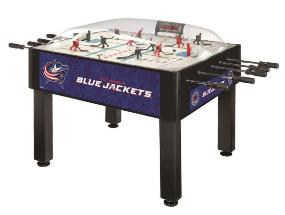 Columbus Blue Jackets Dome Hockey (Basic) Game by Holland Bar Stool Company, Dome Hockey, Holland Bar Stool Company - The Luxury Man Cave