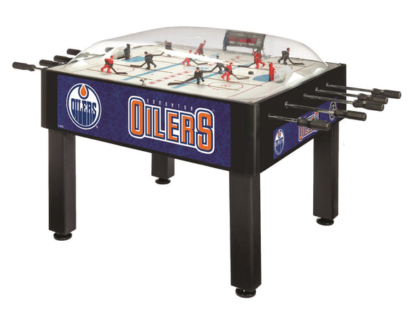 Edmonton Oilers Dome Hockey (Basic) Game by Holland Bar Stool Company, Dome Hockey, Holland Bar Stool Company - The Luxury Man Cave