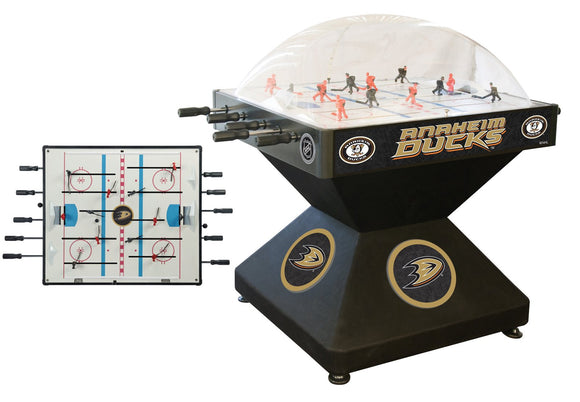 Anaheim Ducks Dome Hockey (Deluxe) Game by Holland Bar Stool Company, Dome Hockey, Holland Bar Stool Company - The Luxury Man Cave