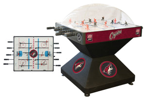 Arizona Coyotes Dome Hockey (Deluxe) Game by Holland Bar Stool Company, Dome Hockey, Holland Bar Stool Company - The Luxury Man Cave