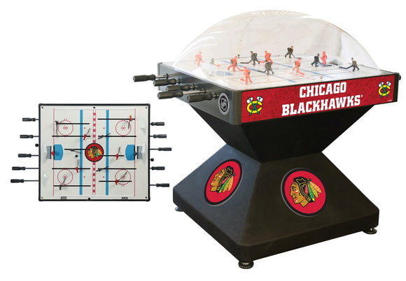 Chicago Blackhawks Dome Hockey (Deluxe) Game by Holland Bar Stool Company, Dome Hockey, Holland Bar Stool Company - The Luxury Man Cave
