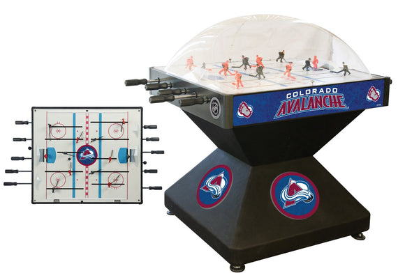 Colorado Avalanche Dome Hockey (Deluxe) Game by Holland Bar Stool Company, Dome Hockey, Holland Bar Stool Company - The Luxury Man Cave