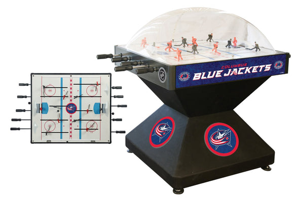 Columbus Blue Jackets Dome Hockey (Deluxe) Game by Holland Bar Stool Company, Dome Hockey, Holland Bar Stool Company - The Luxury Man Cave