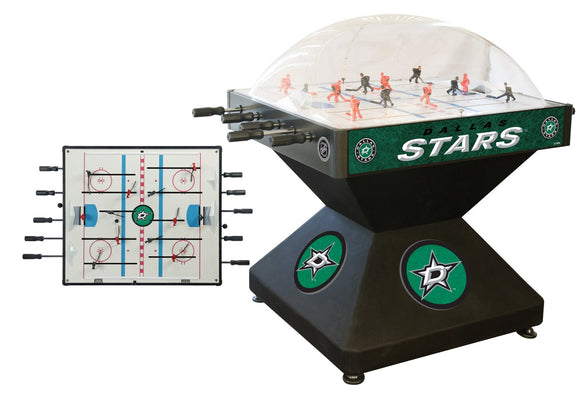 Dallas Stars Dome Hockey (Deluxe) Game by Holland Bar Stool Company, Dome Hockey, Holland Bar Stool Company - The Luxury Man Cave