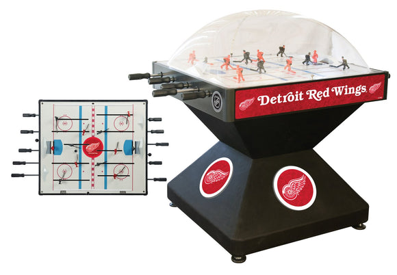Detroit Red Wings Dome Hockey (Deluxe) Game by Holland Bar Stool Company, Dome Hockey, Holland Bar Stool Company - The Luxury Man Cave