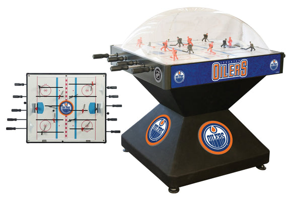 Edmonton Oilers Dome Hockey (Deluxe) Game by Holland Bar Stool Company, Dome Hockey, Holland Bar Stool Company - The Luxury Man Cave