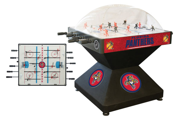 Florida Panthers Dome Hockey (Deluxe) Game by Holland Bar Stool Company, Dome Hockey, Holland Bar Stool Company - The Luxury Man Cave