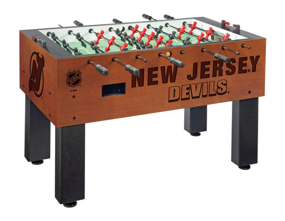 New Jersey Devils Foosball Table by Holland Bar Stool Co., Foosball, Holland Bar Stool Company - The Luxury Man Cave
