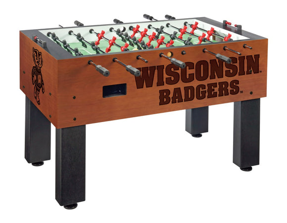 Wisconsin (Bucky) Foosball Table by Holland Bar Stool Co., Foosball, Holland Bar Stool Company - The Luxury Man Cave