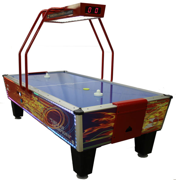 Gold Flare Home Elite by Gold Standard Games, Air Hockey, Shelti - The Luxury Man Cave